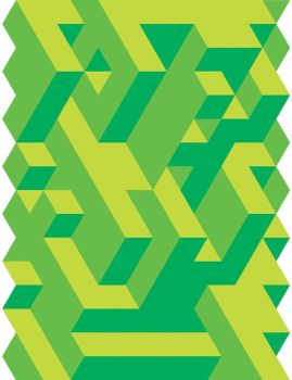 Green Tessellation by Humble-Novice