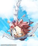 Natsu and Happy Fairy tail 462 by Maxibostero