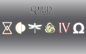 Coheed and Cambria Sleek Wallpaper 2.0 by Vendictar