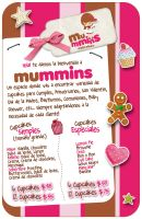 Flyer Mummins Cupcakes by MyPink