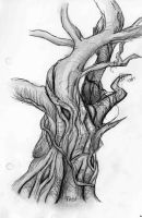 Tree sketch by Tozi