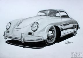 Porsche 356 Speedster by SD1-art