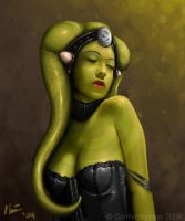 Twi'lek Commission - 1 by GothicXpress