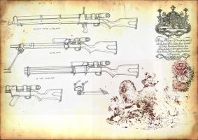 A selection of sniper rifles by GeneralVyse