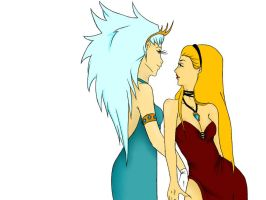 Sisters by Biohazard-Babe