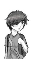 Little Shizuo sketch by iguanablogger