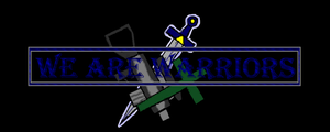 We are Warriors Logo by Kerian-halcyon