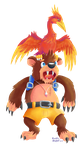 Banjo Kazooie by Kanis-Major