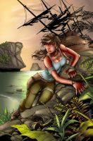 Tomb Raider 15th Anniversary colored by PlasmaGrunt