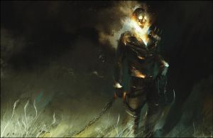 Americana Ghost Rider by bradwright
