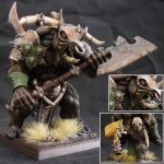 Gorebull (Hero) with the Mark of Nurgle by Taelonar