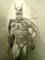 Batman by Atailfeathers