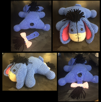 Eeyore Crochet Pattern by Skestes