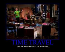 Time Travel Motivational Poster by QuantumInnovator