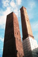Bologna's Towers by Cecilrac