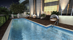 Outdoor hotel pool by bassplayer264