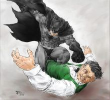 Batman punch by einar036