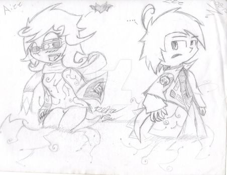 Project A: Two evil leaders (Concept sketch) by mr-pachiful