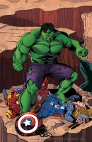 ..What If Hulk DIDN'T Smash for Captain America... by thelearningcurv