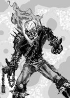 Dan Ketch, The Ghost Rider by StevenVnDoom