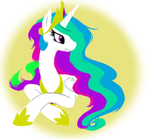 Princess Celestia by Textbookdoppelganger