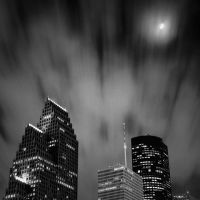 Houston at Night III by DrGiancarlo
