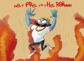 Set fire to the rain by MyHatsEatPeople