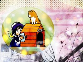 little house dog by camille-Paz