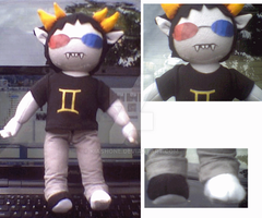 Sollux Captor Plush by kiashone