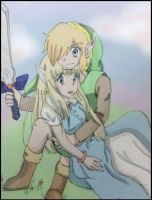 Zelink A Link To The Past color by northernlightsky
