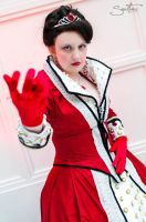 Cora, Queen of Hearts, Once Upon a Time by proppedupcreations