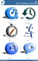 Dre-S Software Icons 6 by piscdong