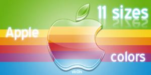 Apple colors wallpaper by vIcOls