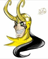 .:EMH! Loki - Digital Practice:. by xGoldenLocks