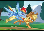 472012 commission: Fun Run by KenDraw