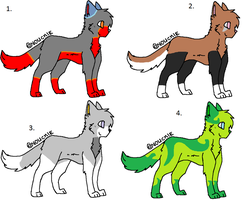 Cheap Point Cat Adoptables! by H3ARTOFTHEOCEAN
