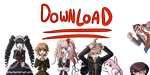 ***DANGAN RONPA COMPLETE SPRITE COLLECTION ZIP!*** by HamtaroFlower