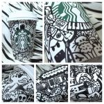 Starbucks Cup Doodle #6 by isnani