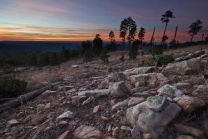Mogollon Rim Sunrise by mofig