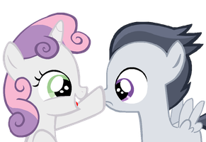 Boop your muzzle by LunaticDawn