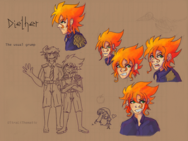 Faces of Diether by UltraLiThematic
