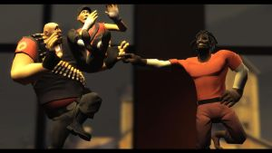 Demoman's new fancy style. by Bliblix