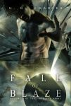 Cover design for Fall of Blaze by HOCHarles