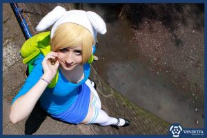 fionna cosplay adventure time by sanchanclau