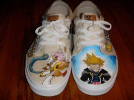 Kingdom Hearts Shoes 2 by osbornexink