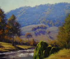 Coxs River Sparkle by artsaus