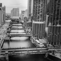 Chicago River by jonniedee