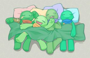 Nap time by mozuco