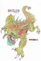 Evolve fan-monster: The Basilisk by HardCoreCrocomire