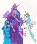 Leto and Daughters by 13foxywolf666